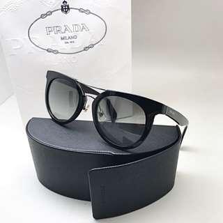 a2574a8d9f314 PRADA SPR 08P Black Sunglasses 💯% AUTHENTIC