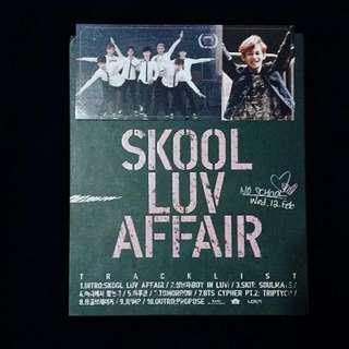 [WTS] BTS SKOOL LUV AFFAIR ALBUM