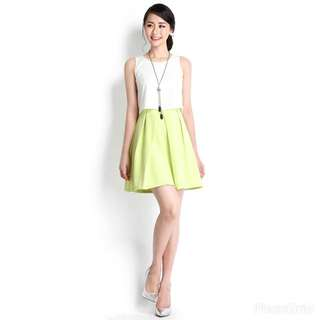 Lilypirates Double Trouble Dress in Lime