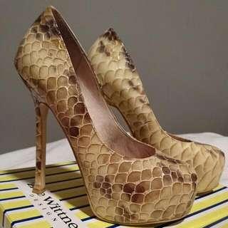 Zoe Wittner Leather Heels