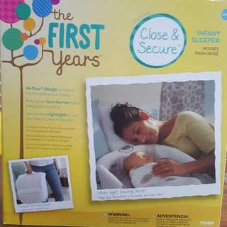 The First Years Close And Secure Sleeper (With Box - NEVER USED)