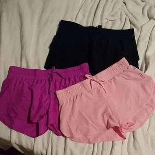 X3 Lorna Jane Run Shorts