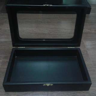 Wooden Multipurpose Box With Windows
