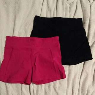 X2 Lorna Jane Short Shorts