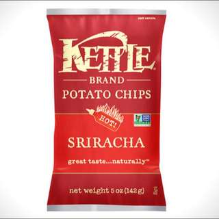PO Kettle Sriracha 142gr (other flavors available)