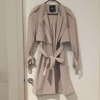 [New] Classic Trench Coat Silk Interior