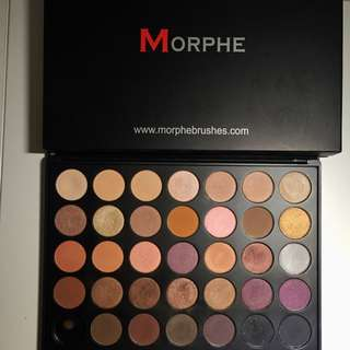 Morphe Eyeshadow 35W