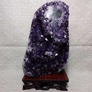 烏拉圭紫水晶鎮(B08)