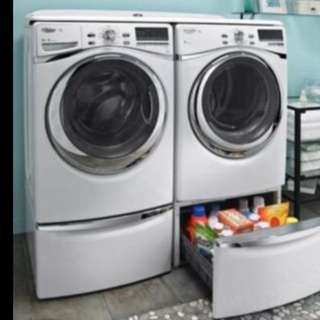 Pedestals For Washer And Dryer *white*