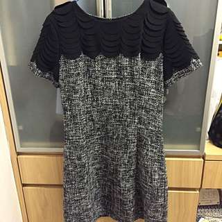 Black Dress (Korean Style) In Size Small