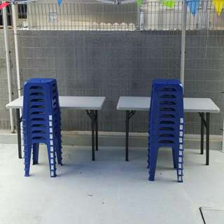 For Rent - Table & Stools