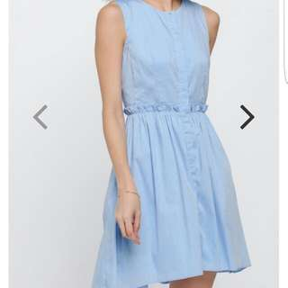 BNWT Holina Ruffle Dress