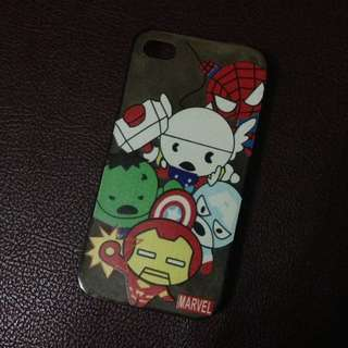 Iphone 4/4s Marvel Case