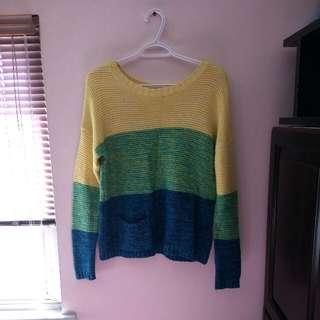 Rainbow Sweater