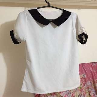 #011 White Blouse