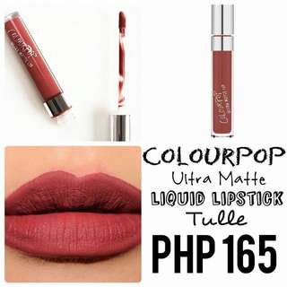Liquid Lipstick | Colourpop | Ultra Matte | Tulle