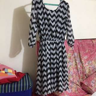 #013 Pattern dress