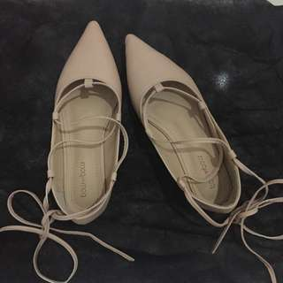 Ballerina Flats ( Tied Up Shoes )
