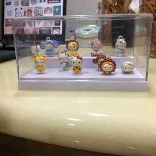 Miniature Hello Kitty Display
