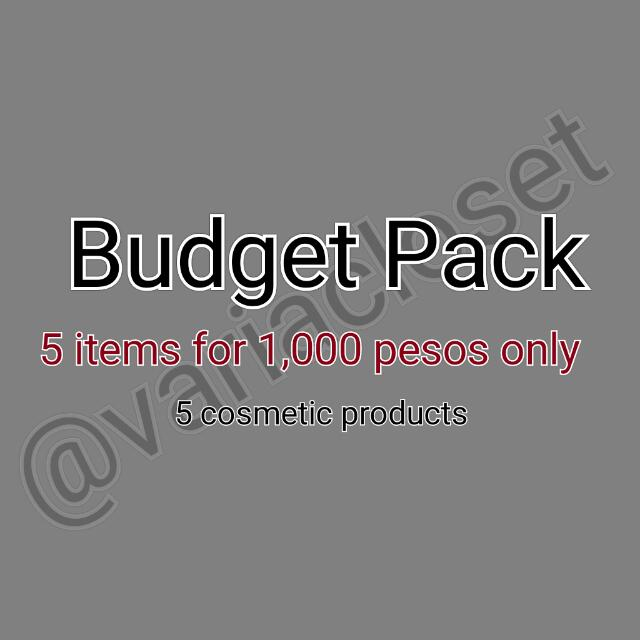 5 Cosmetic Products For 1k