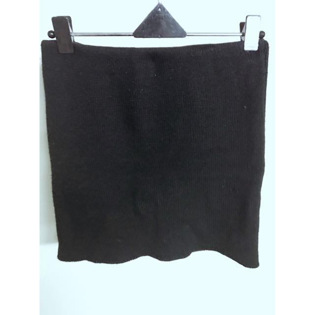 黑色針織裙#轉轉來交換