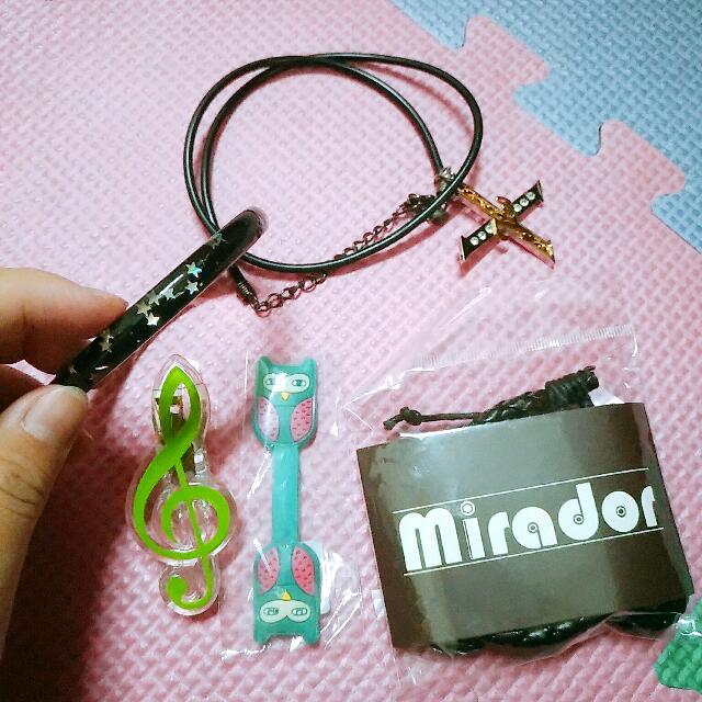 🎊 贈品🎊 項鍊手環夾子耳機套