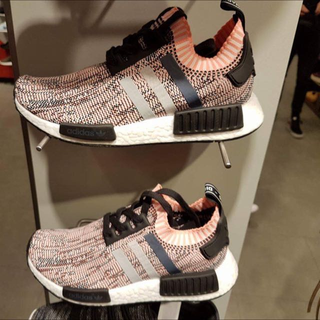 4606bf197 Adidas NMD Primeknit Black And Coral
