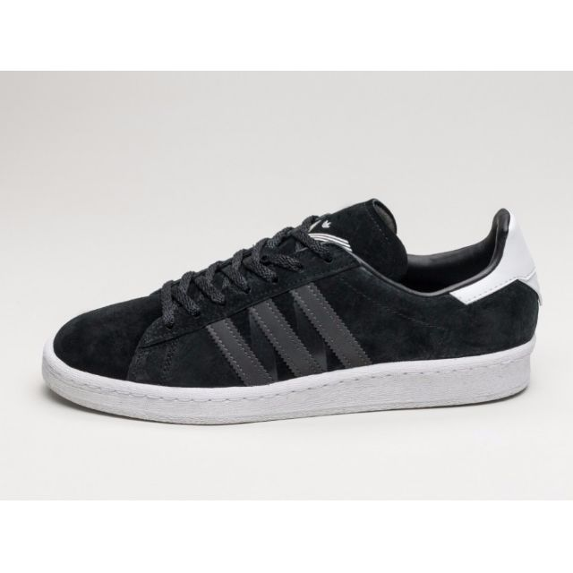 de0feddc7a51 Authentic ADIDAS X WHITE MOUNTAINEERING CAMPUS 80S (CORE BLACK ...