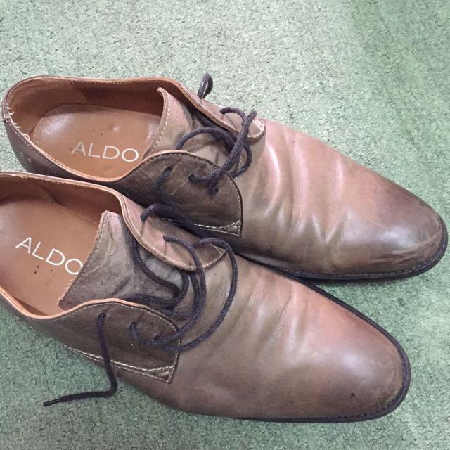 Aldo Men's Oxford Lace Up Shoes