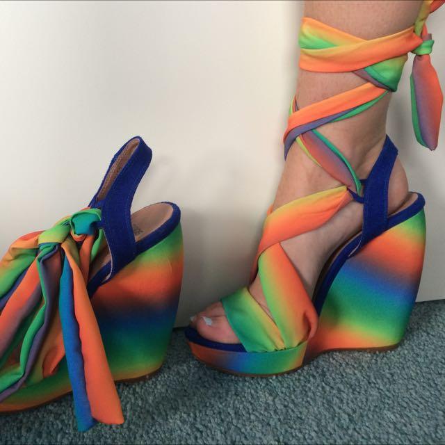 Asos Rainbow Wedges