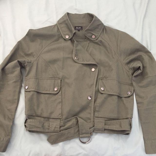 Bardot Brand Khaki Jacket