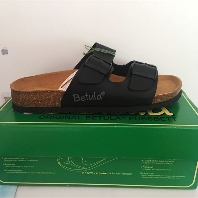 Betula By Birkenstock Sandals Black 40