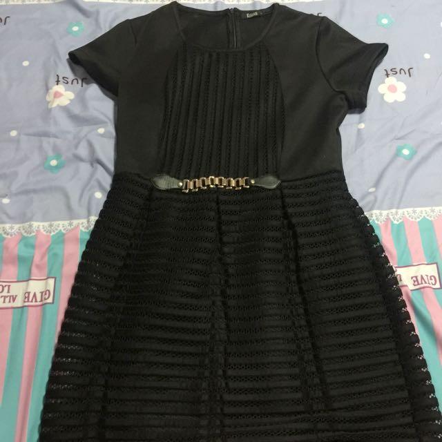 Black Dress With Sleeves Krizia