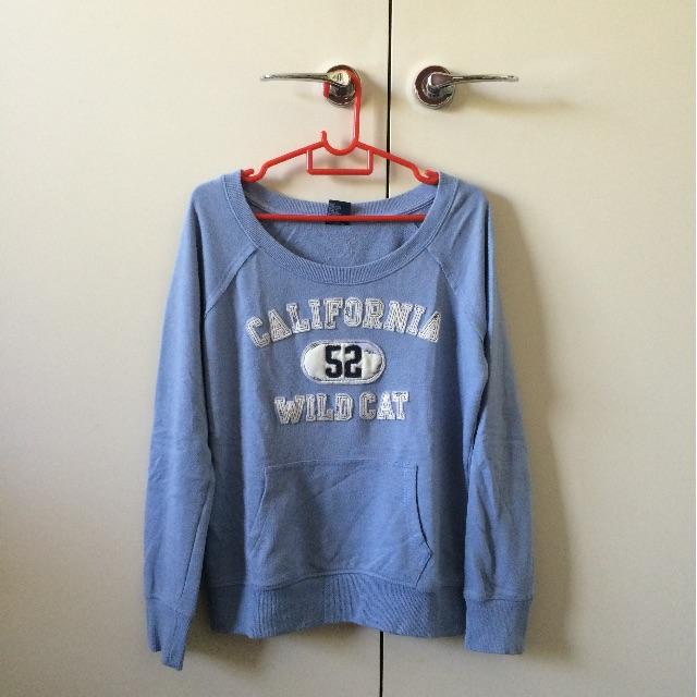 Blue Comfy Sweater