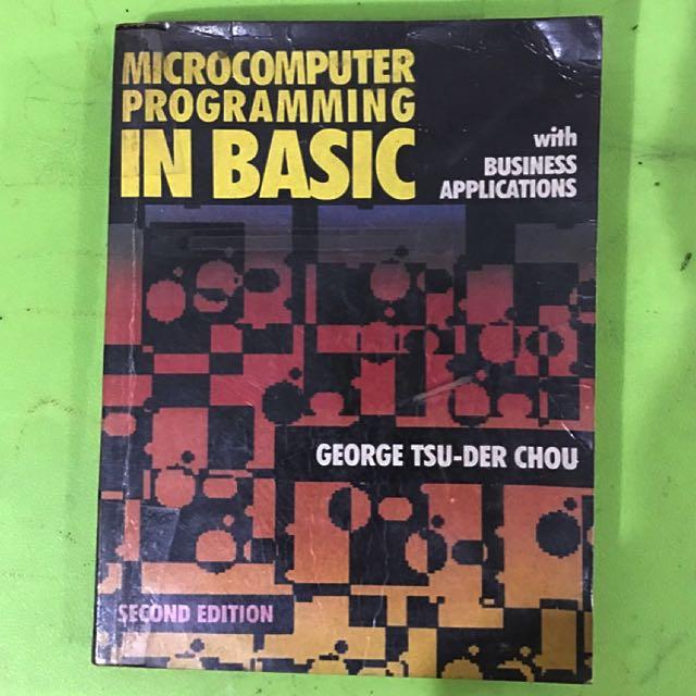 Book - Basic Programming