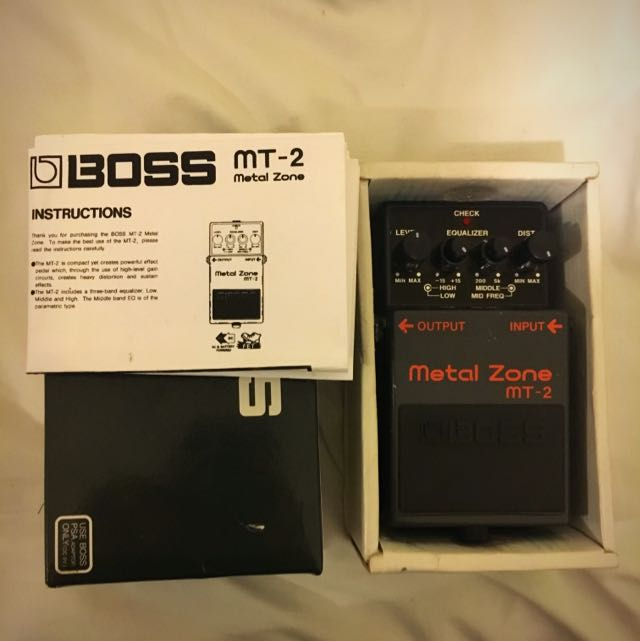 Boss - Metal Zone - Guitar pedals