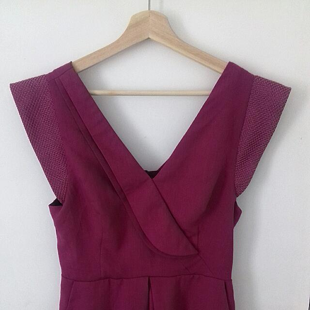 CAMEO Womens Jumpsuit Pink Size M