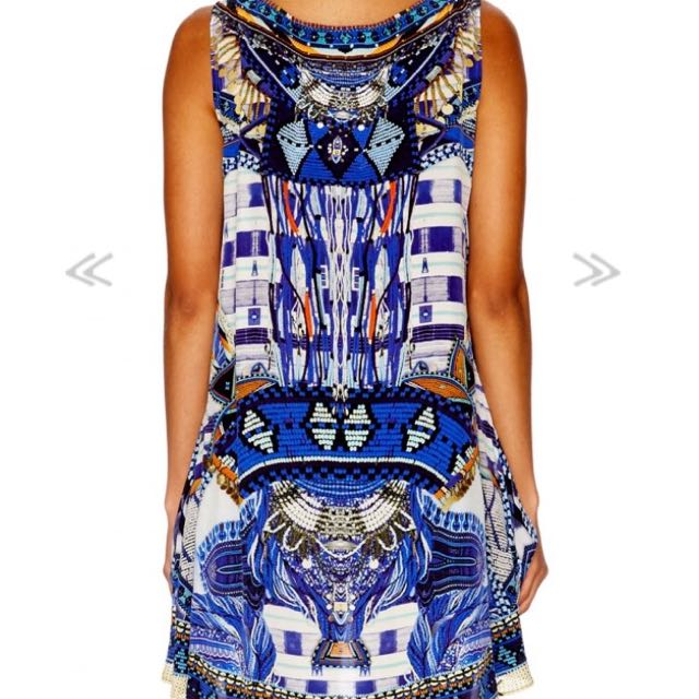Camilla Rythm & blues long back singlet top