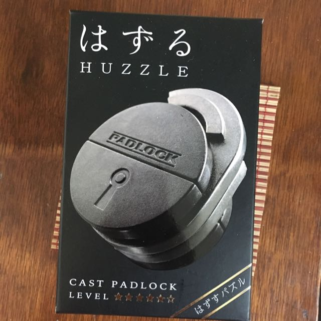 Hanayama Cast Padlock Puzzle (From Japan)