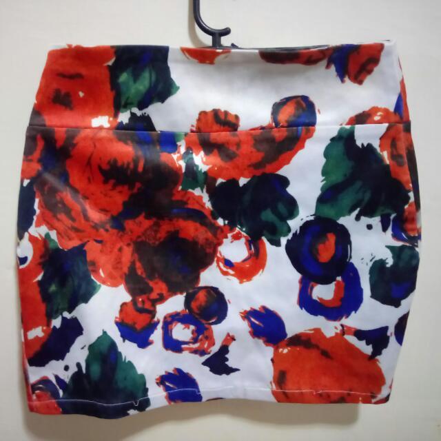 Charlie Floral Skirt