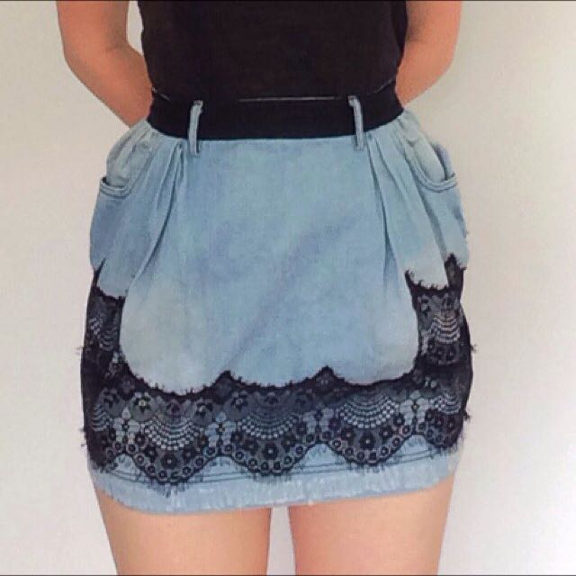 Dolce & Gabbana Denim Skirt