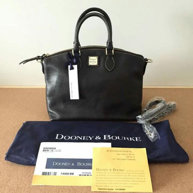 SALE! Dooney And Bourke Full Leather Bag