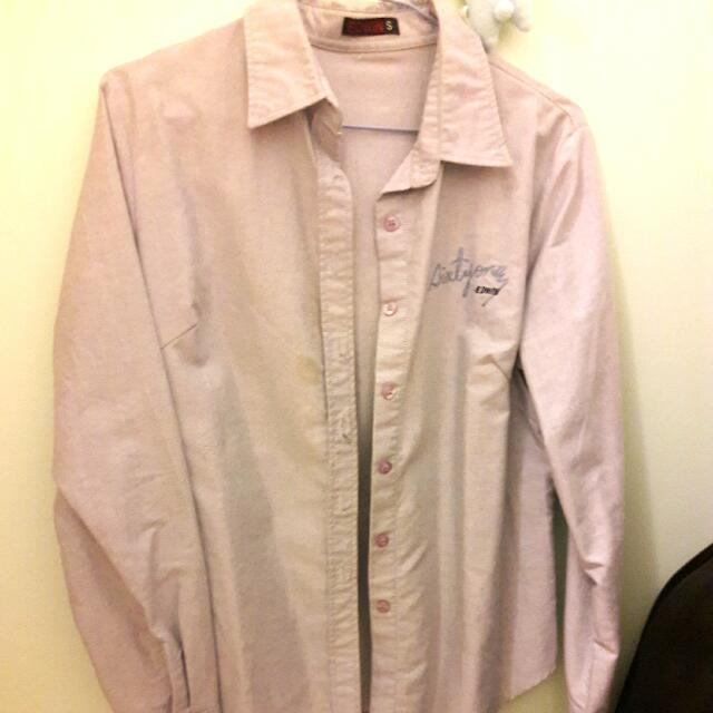 EDWIN 淺藍色牛仔襯衫外套