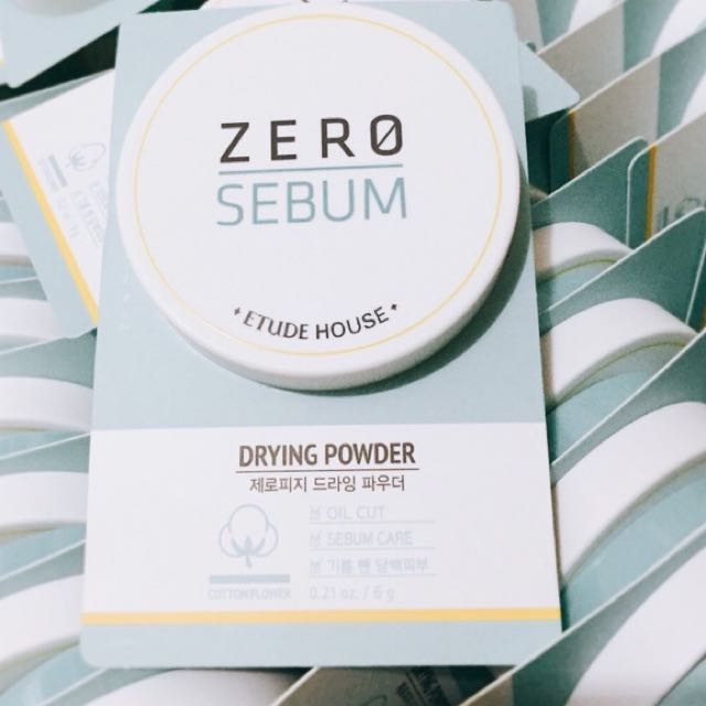 Etude Zero Sebum Powder