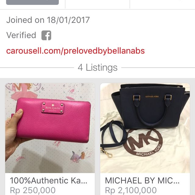 FOLLOW @prelovedbybellanabs For Her Preloved Authen Bags