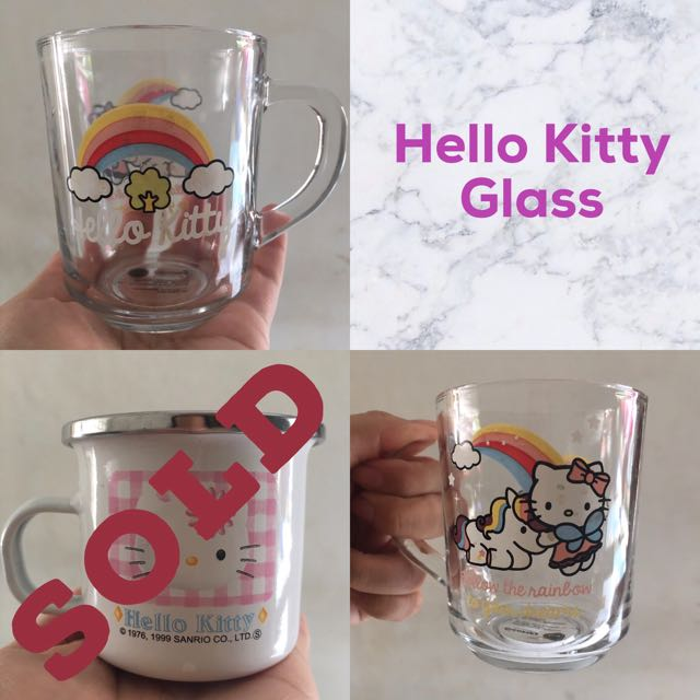 Gelas Hello Kitty