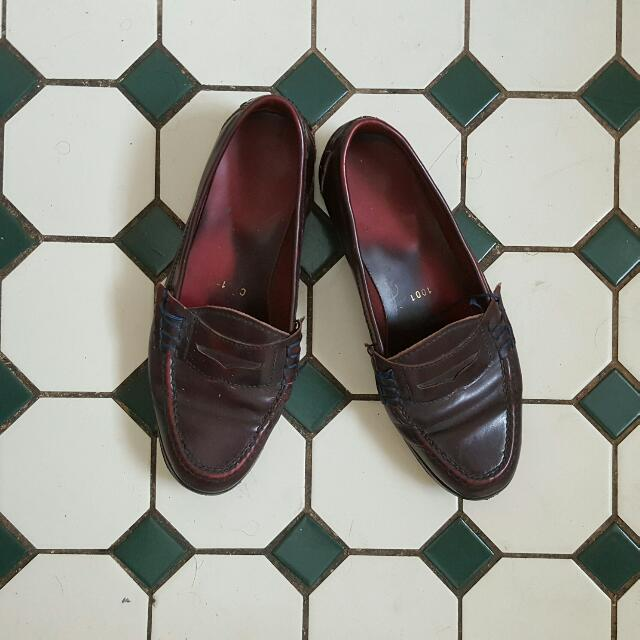 GENUINE ITALIAN MADE LEATHER LOAFERS