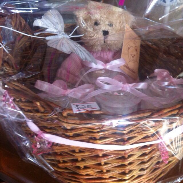 Girls Teddybear Candle Pack