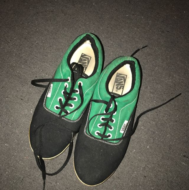 Green And Black Vans