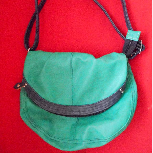 REPRICED!!!! Green Bag by EGG